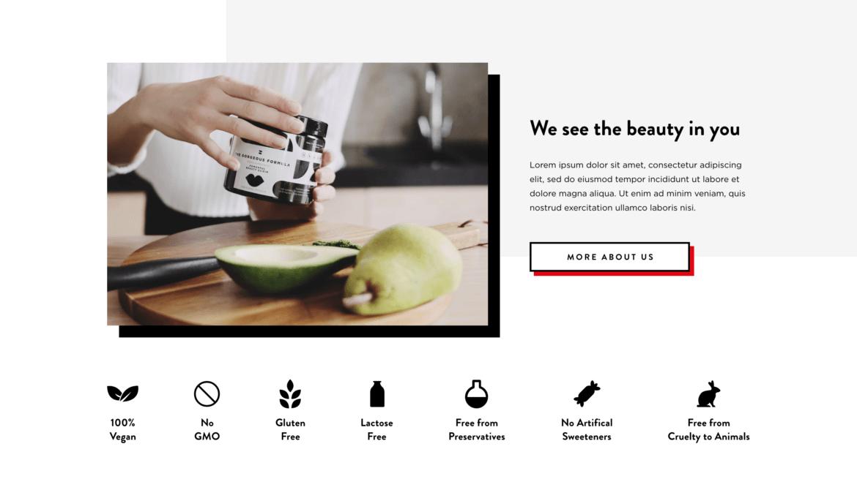 branding sklepu internetowego, gotowa skórka sklepu, branding w internecie